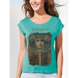 ΜΠΛΟΥΖΑΚΙ ΚΟΝΤΟΜΑΝΙΚΟ - ΓΥΝΑΙΚΕΙΟ ART T-SHIRT ELIZABETH 1903 MIRROR MAGIC